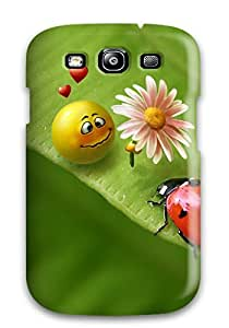 [htMGeLS6710cCcCY]premium Phone Case For Galaxy S3/ Flowers For Mobile Tpu Case Cover