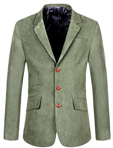 Wholesale Alion Men's Business Single-Breasted Slim Fit Suit Blazers