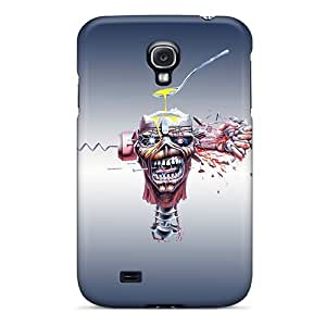 Fashion Rbs670HXFg Case Cover For Galaxy S4(iron Maiden Madness)