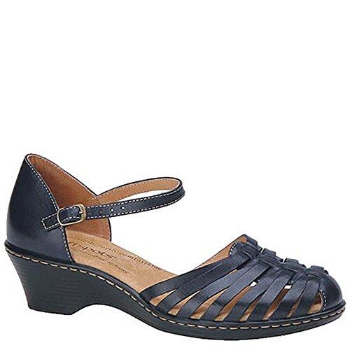 Softspots Women's Tatianna,Navy Leather,US 8 M