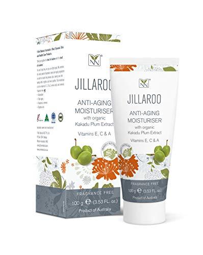 NEW Jillaroo Anti-Aging Moisturiser with Organic Kakadu Plum Extract, 100g (3.53FL. oz)