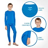 Rocky Striped Thermal Underwear for Boys Fleece