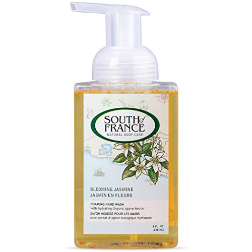 (Blooming Jasmine - South of France Natural Body Care 8oz Foaming Hand Wash (3 Bottles) )