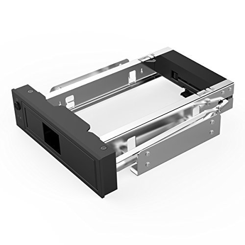 - ORICO 1106SS 5.25 Trayless Hot Swap Mobile Rack CD-ROM 3.5 inch Internal SATA hard drive SSD adapter - Black