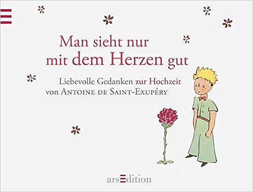 Man Sieht Nur Mit Dem Herzen Gut Hochzeitsbuch Amazonde