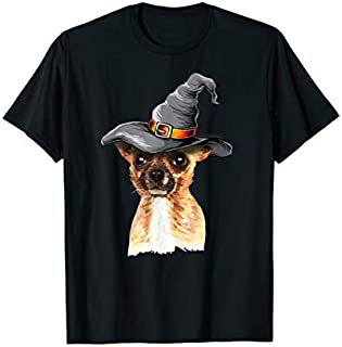 Happy Halloweenie  Outfits Halloween Chihuahua Gift T-shirt | Size S - 5XL