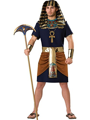 Pharaoh Adult Costume - X-Large (Cleopatra Couple Costume)