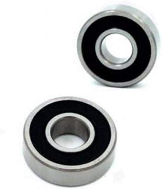 Juego de cojinetes 2RS r/ígidos de Bolas de Acero Cerrado con rodamientos de Bolas Sillas servo Motores de Masaje Rodamientos CULER 10pcs