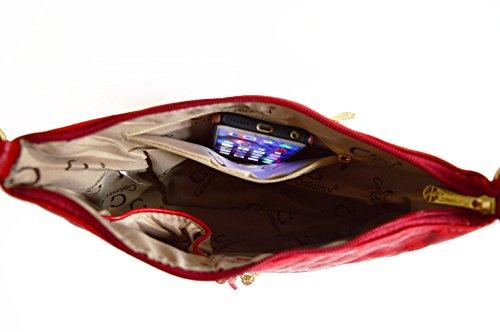 Paillettes Léger Porté Multicolore souple Besace Bandes Brillant –sac Mariage sacoche Bandoulière Femme Gallantry–sac Rouge Soirée Main Strass beige noir Cher Pas Epaule 5nxq0Ugvw