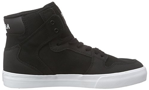 Unisex Black Sneaker White Supra Vaider Kids Supra Kids twqOOPRv