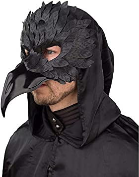 Linda máscara de Cueva para Caballero / Negro / Elegante máscara ...