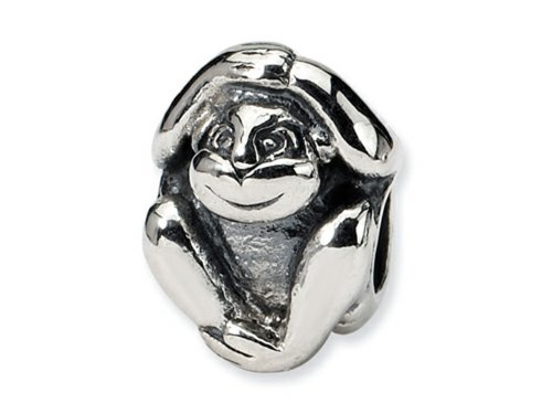 Sterling Silver Reflections Monkey - 3