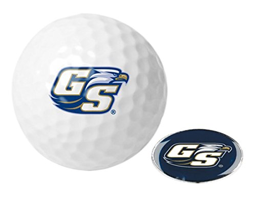 Georgia Southern Eagles Golf - NCAA Georgia Southern Eagles - Golf Ball One Pack with Marker