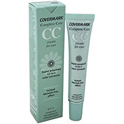Covermark Women's Complete Care CC SPF 15 Waterproof Cream for Eyes, Soft Brown, 0.51 Ounce