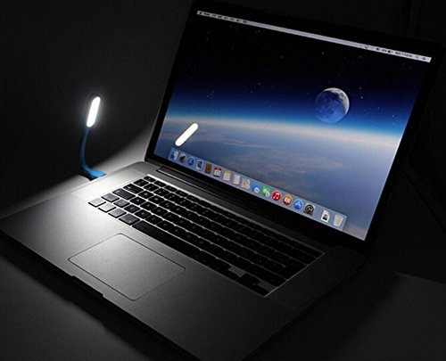 10 PCS Magik Flexible USB LED Light Lamp 180 Degree Adjustable Portable Lamp for Power Bank PC Laptop Notebook Computer by Magik (Image #4)