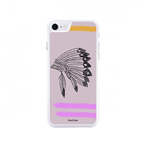 Coque + Verre Trempé pour iPhone 7 SmartCase® PINK INDIAN