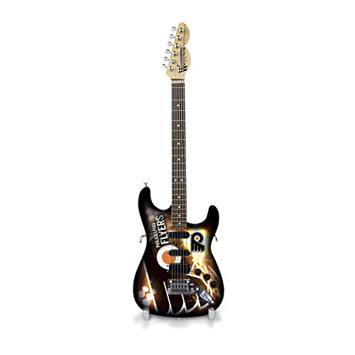 Woodrow Guitar by The Sports Vault NHL Philadelphia Flyers Collectible Mini NorthEnder - Flyers Mini Philadelphia Nhl