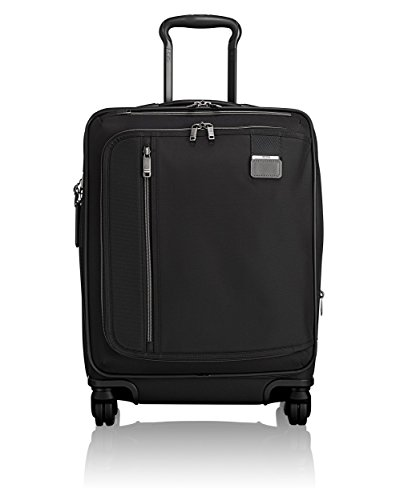 TUMI - Merge Continental Expandable Carry-On Luggage - 22 Inch Rolling Suitcase for Men and Women - Black Contrast