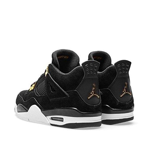 Us white Retro Size Air 0 Big metallic Jordan gs black Iv 6 Kids Gold vgOzznqZ