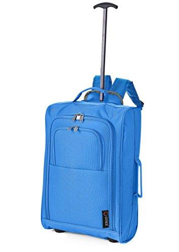 5 Cities , Trolley Unisex, Blu Royal (Blu) - TBP023-930 Royal Blue