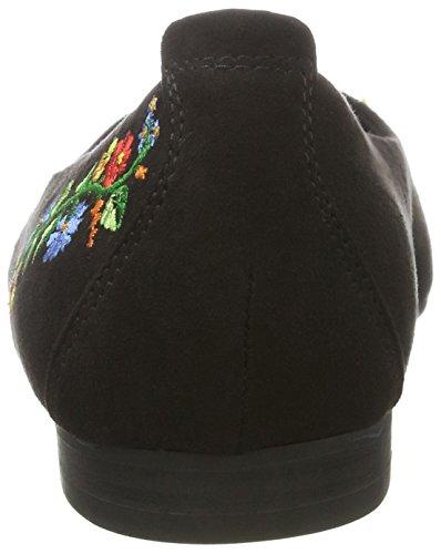 Marco Tozzi 22123, Bailarinas para Mujer Negro (Black Comb 098)