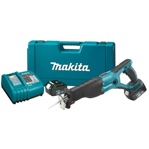 Makita BJR181 18-Volt LXT Lithium-Ion Cordless Reciprocating Saw Kit (Discontinued by Manufacturer)