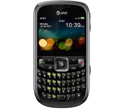 ZTE Z431 Unlocked GSM Phone with 2.4″ Display, 2MP Camera, QWERTY Keyboard, GPS, SNS Integration, Muisic Player and microSD Slot – Black