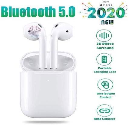 Originales I12 TWS Auriculares Inalámbricos Bluetooth 5.0 Auriculares Touch Control Mini Auriculares para Teléfono Inteligente PK I11 I14 I60 I30