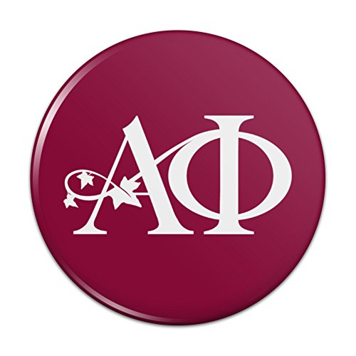 Alpha Phi International Women's Fraternity Sorority Logo Kitchen Refrigerator Locker Button Magnet - 2.25