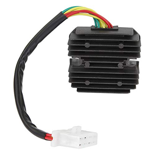 Gl1100 Honda Interstate - Voltage Regulator Rectifier Replaces 31600-463-008 31600-MG9-010 Fit for Honda Motorcycles GL1100 1100A 1100D 1100I 1200 Gold Wing Aspencade Interstate Deluxe Selected 1980-1987/TAMKKEN
