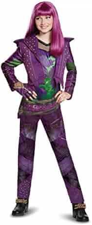 Disney Mal Deluxe Descendants 2 Costume, Purple, Medium (7-8)