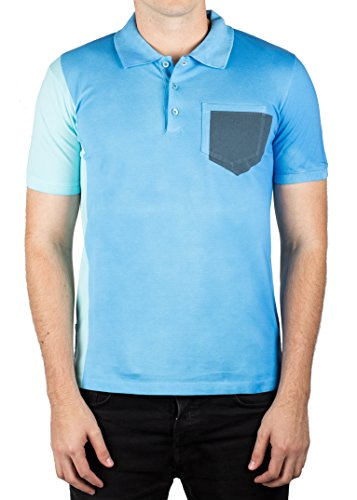Prada Men's Jersey Sport Pique Cotton Slim Fit Polo Shirt - Prada Sport Apparel