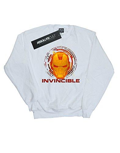 Mujer De Blanco Entrenamiento Invincible Man Iron Camisa Avengers Marvel Y8qBdOwY