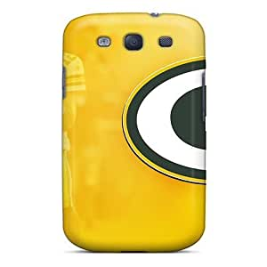 High Quality Pollary Green Bay Packers Skin Case Cover Specially Designed For Galaxy - S3