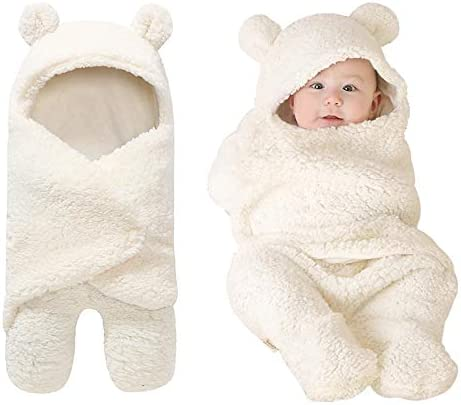 Newborn Cute Receiving Blanket M Baby Wrap Swaddle Blanket Sleeping Bag Sleep Sacks for Boys Girls