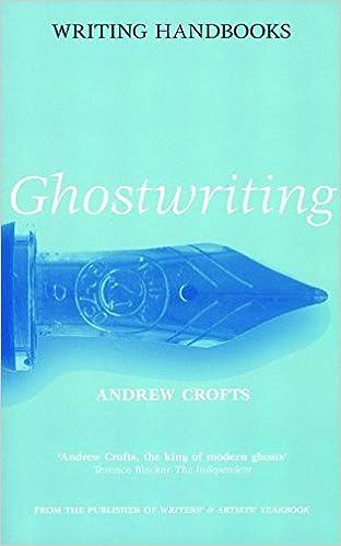 Ghostwriting Writing Handbooks Andrew Crofts   Follow The Author