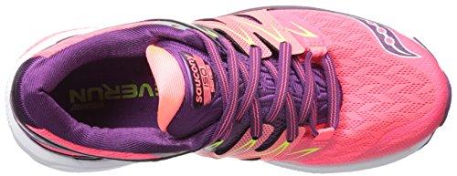 Saucony Zealot Iso 2 W, Chaussures de Running Femme Rose