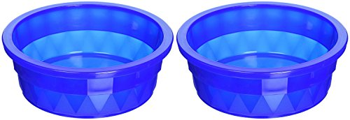 ((2 Pack) Van Ness Heavyweight Translucent Large Crock Dish, 52 Ounce Per Bowl)
