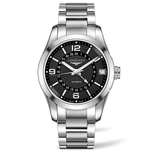 - Longines Conquest Classic Stainless Steel Automatic Mens Watch L27994566