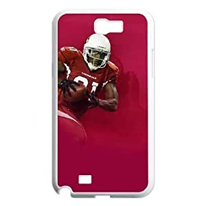 Samsung Galaxy Note 2 7100 White Cell Phone Case Arizona Cardinals NFL Unique Phones Case NLYSJHA1116 by kobestar