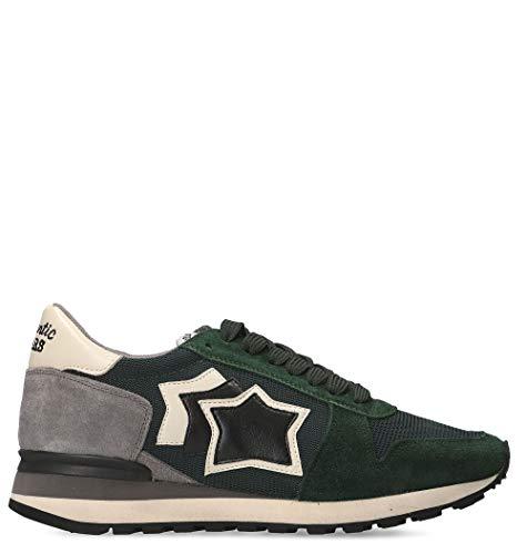 Grigio Camoscio Sneakers verde Atlantic Uomo Argopanynpdn Stars CIUBSwqX