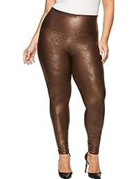 Womens Faux Leather Leggings