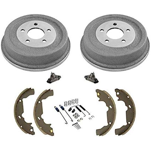For 2005-2006 Chevrolet Equinox Brake Pad Rotor Shoe Drum Kit 78856KX