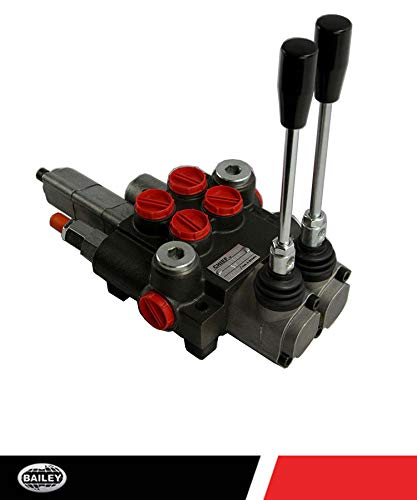 Chief P40 G Series Directional Control Valve Loader: 2 Spool, 3 Position Spring Center and 4 Position Float, 10 GPM, 3625 PSI, SAE #10 Inlet and Outlet, SAE #8 Work Ports, 220956 by Chief (Image #7)
