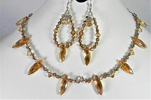 Swarovski and Australian Crystal Jewelry Set