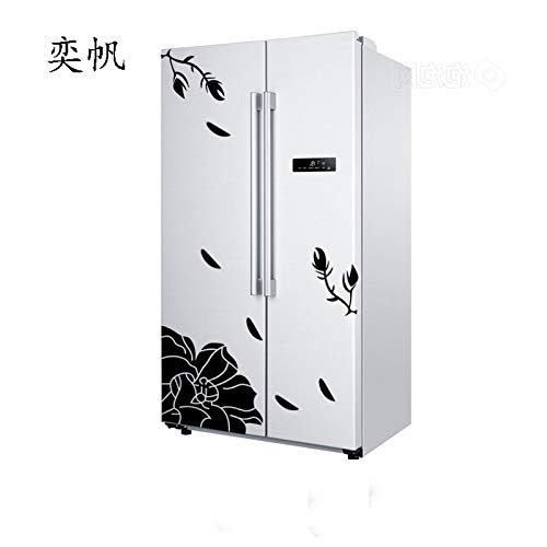 Erovy - New and Wall Sticker Creative Refrigerator Sticker Butterfly Pattern Wall Stickers Home Decor Wallpaper -