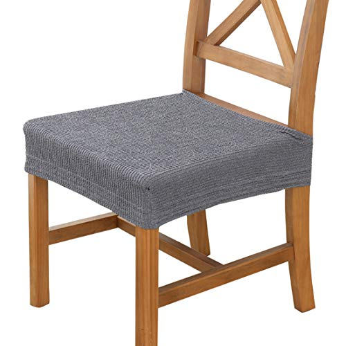 2pcs Spandex Lycra Elastic Computer Stool Cover Chair Furniture Waterproof Fabric Modern Seat Cover