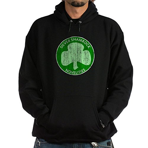 CafePress Silver Shamrock Hoodie (dark) - Pullover Hoodie, Classic & Comfortable Hooded (Halloween Season Of The Witch Review)