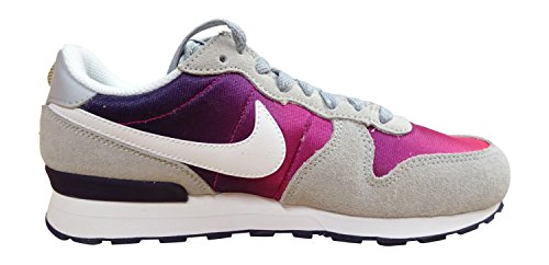 Nike Internationalist (Gs), Zapatillas de Deporte Para Niñas Gris (Gris (Wolf Grey / White-Purple Dynasty))