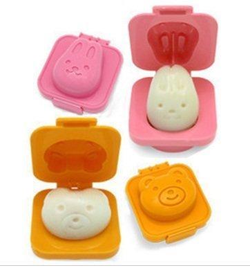 Daiso Plastic Boiled Egg Mold ( PACK OF 4 )